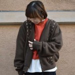 * blown color cardigan * 古着屋 JAM 京都