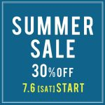 """SUMMER SALE 30%OFF"" START!!"