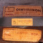 70's Oshwahkon Leather Jacket  大阪 古着屋 JAM