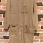 40's~50's Carter's brown chambray shop coat    大阪 古着屋 JAM
