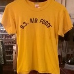 60's vintage  U.S. AIR FORCE  T-SHIRTS