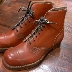 WWⅡ 40's VINTAGE  British Armed Forces leather boot 大阪  古着屋 JAM