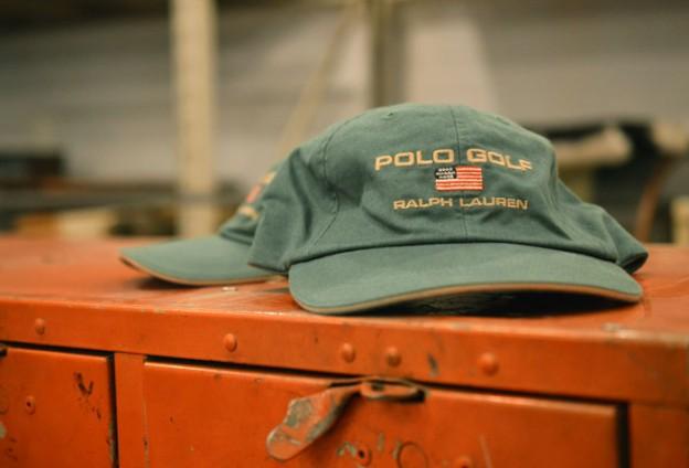 DEAD STOCK Ralph Lauren ポロゴルフ 6パネル ベースボールキャップ