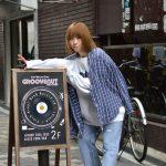 GROOVENUT RECORDSさんにスウェット特集のモデル撮影させて頂きました〜!