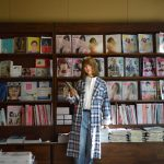 スタンダードブックストア心斎橋店さんで春のガウン特集のモデル撮影をさせて頂きました〜!