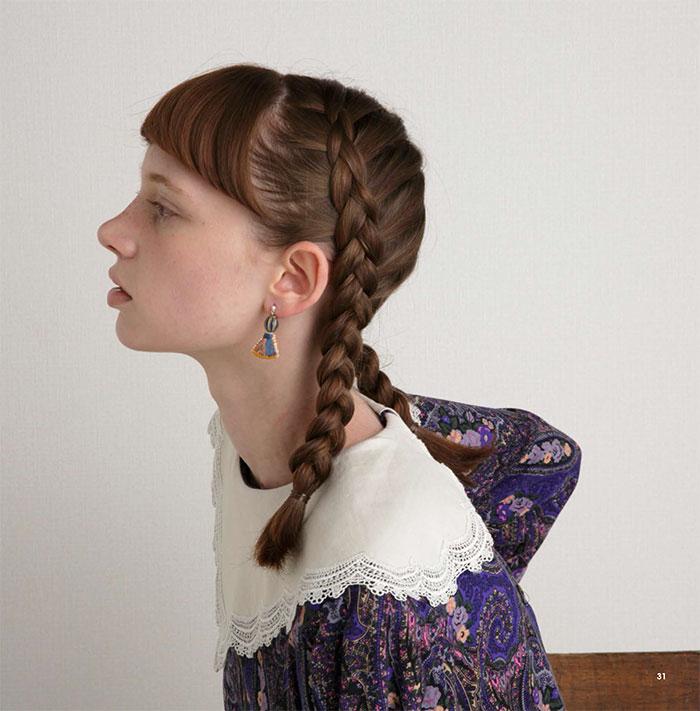 ハイトモニカの刺繍アクセサリー