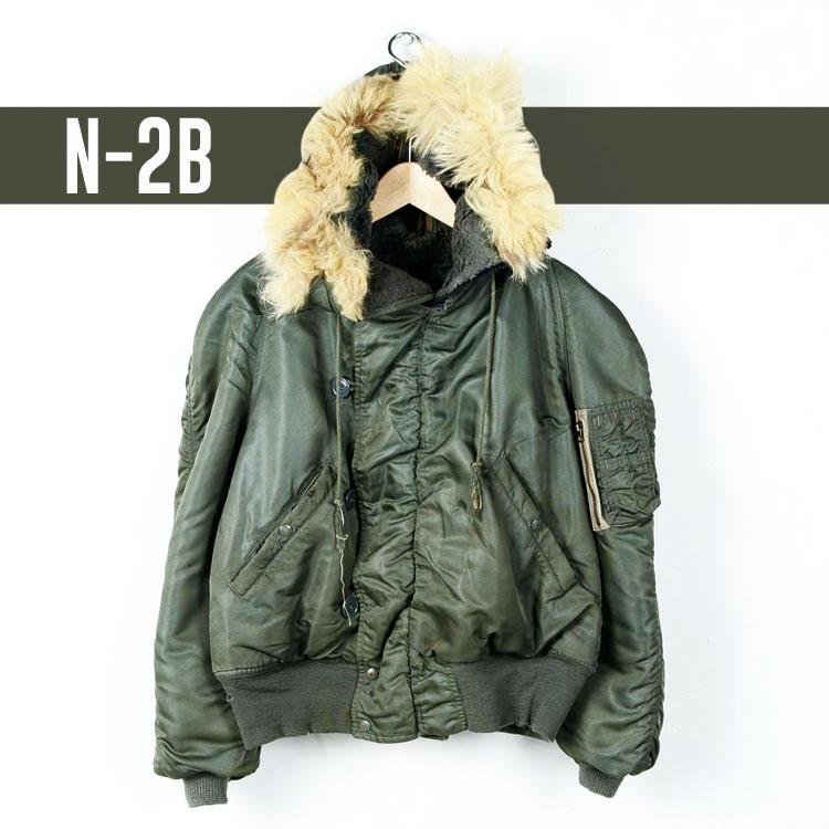 ミリタリー フライトジャケット N-2