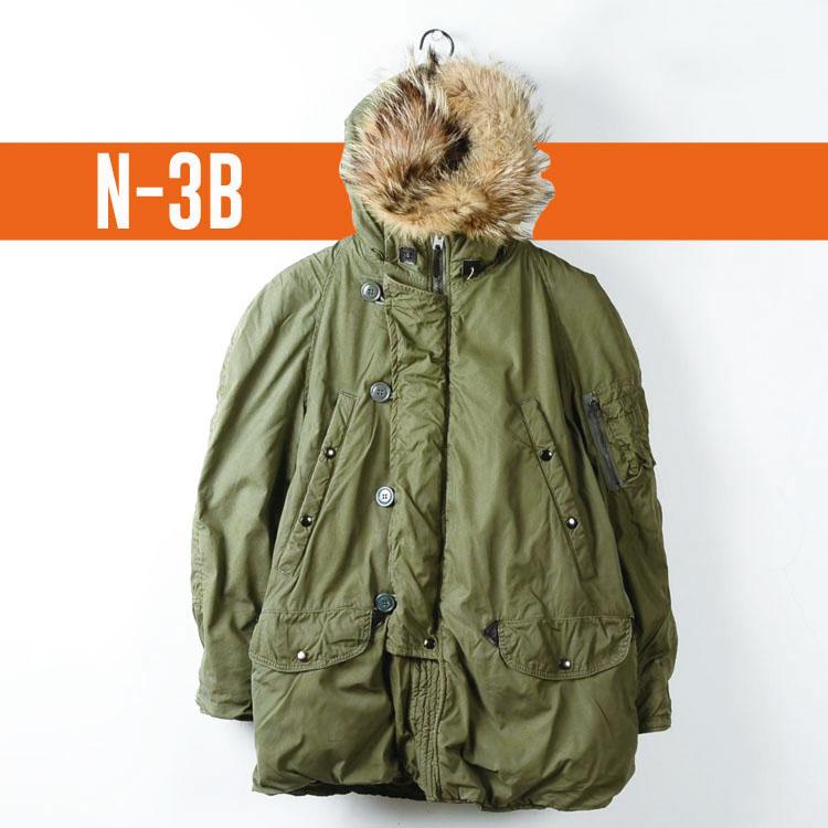 ミリタリー フライトジャケット N-3