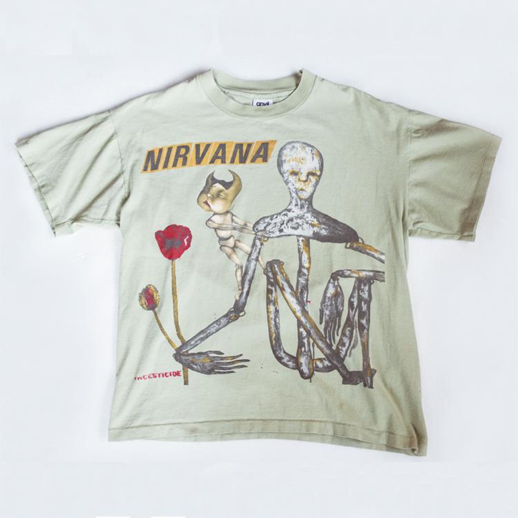 ビンテージ ヴィンテージ ニルヴァーナ バンド Tシャツ 古着 大阪