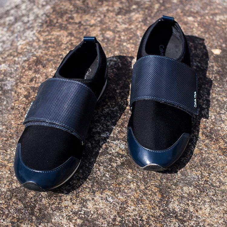 カルバンクライン 靴 スニーカー 中古 古着