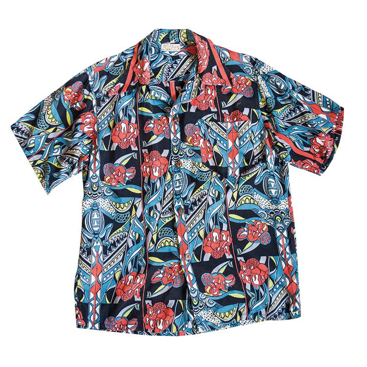 ハワイアンアロハシャツ ヴィンテージ 50年代 メンズ 古着