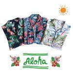 アロハシャツの季節がやってきた!定番の柄やおすすめブランド、コレクター必見のヴィンテージ・アロハなどメンズ新入荷アイテムをご紹介。