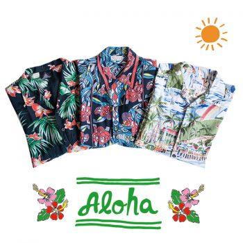 ハワイアンアロハシャツ メンズ 古着 中古