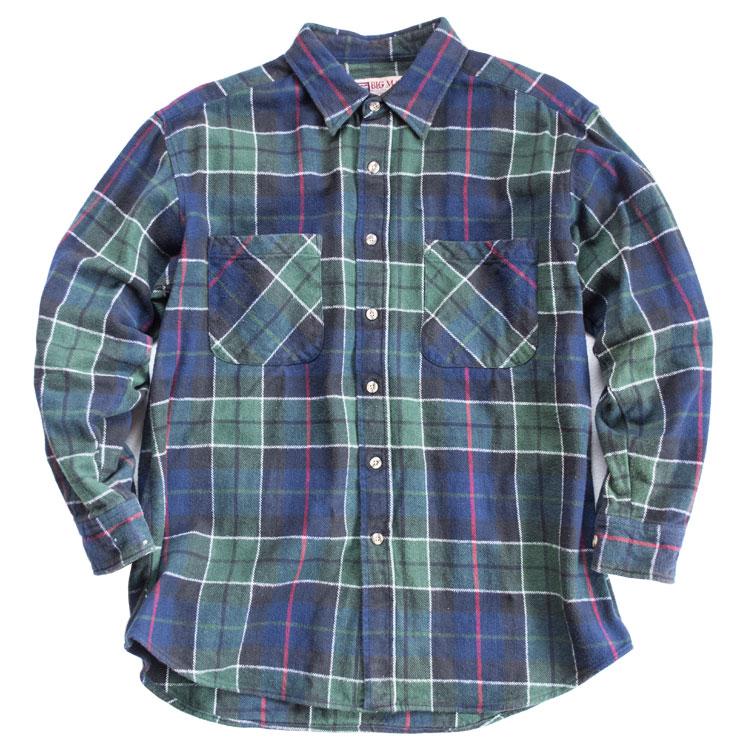 古着屋JAMのネルシャツ