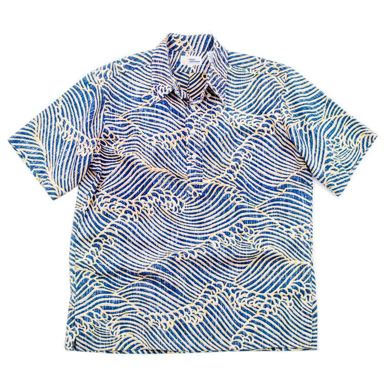 70~80年代 レインスプーナー REYNSPOONER ヌードタグ 総柄 ボタンダウン ハワイアンアロハシャツ