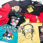 可愛いアメキャラたちが大集合!個性的なキャラクターTシャツでいいねをGET!
