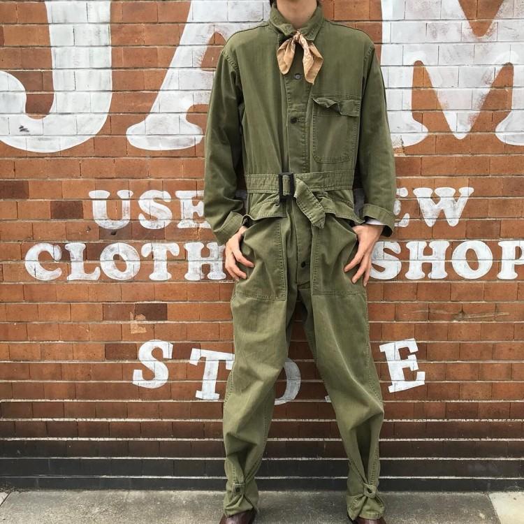 古着屋JAMのミリタリーオールインワン