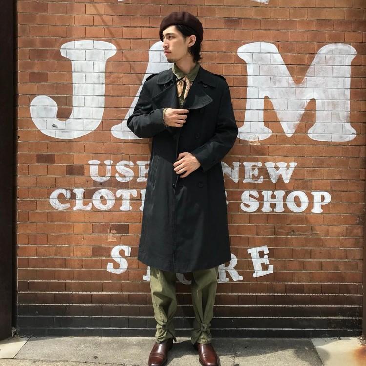 古着屋JAMのトレンチコート