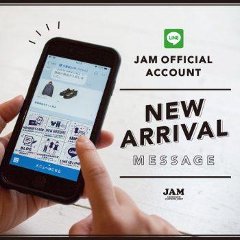 古着屋JAM ライン 新着お知らせ機能