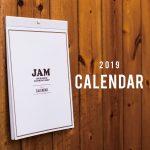 2019年古着屋JAMカレンダーをプレゼント!無くなり次第終了!