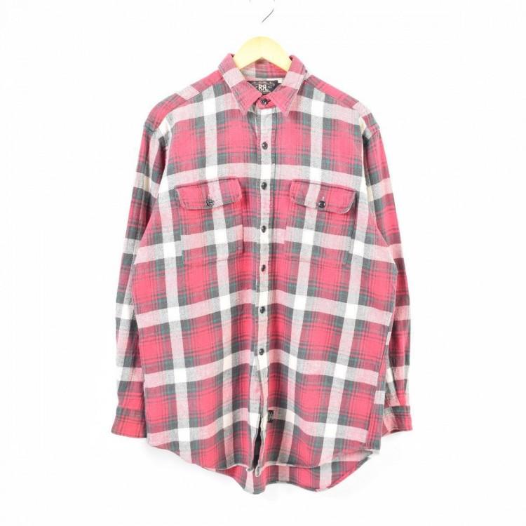 RRLライトネルシャツ