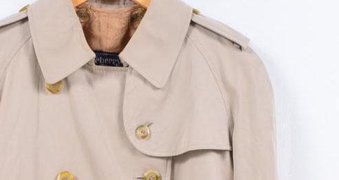 古着屋JAMのトレンチコートガンフラップ