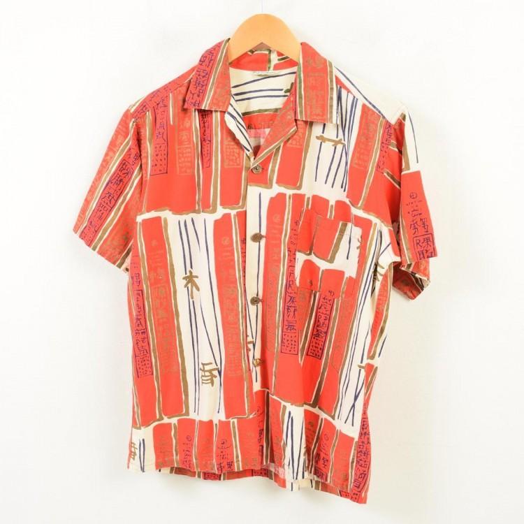 古着屋JAMのアロハシャツ_オリエンタルパターン