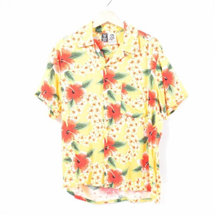 古着屋JAMのアロハシャツ_バックパネル1