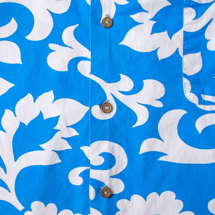 古着屋JAMのアロハシャツ_古銭ボタン