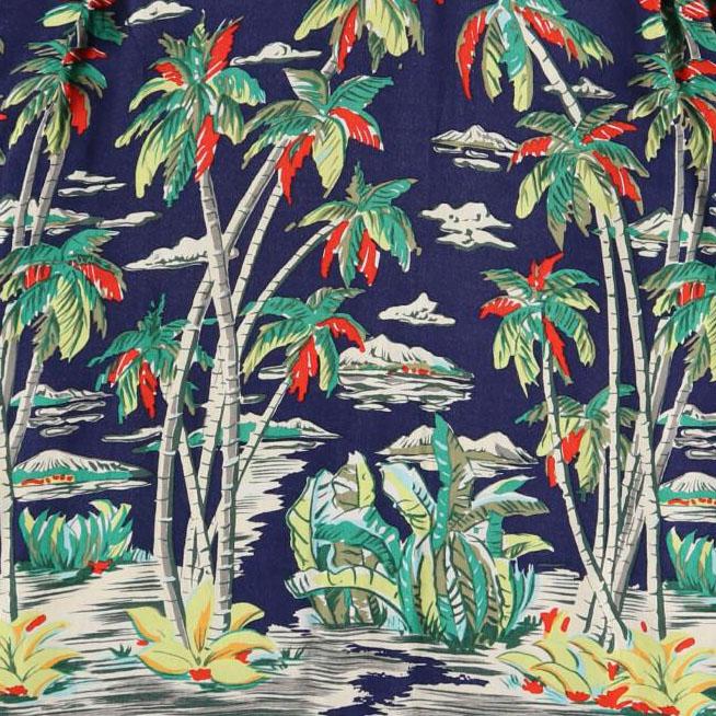 古着屋JAMのアロハシャツ_ホリゾンタルパターン(水平柄)