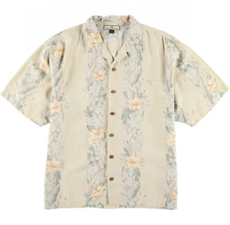古着屋JAMのアロハシャツ_ボーダーパターン