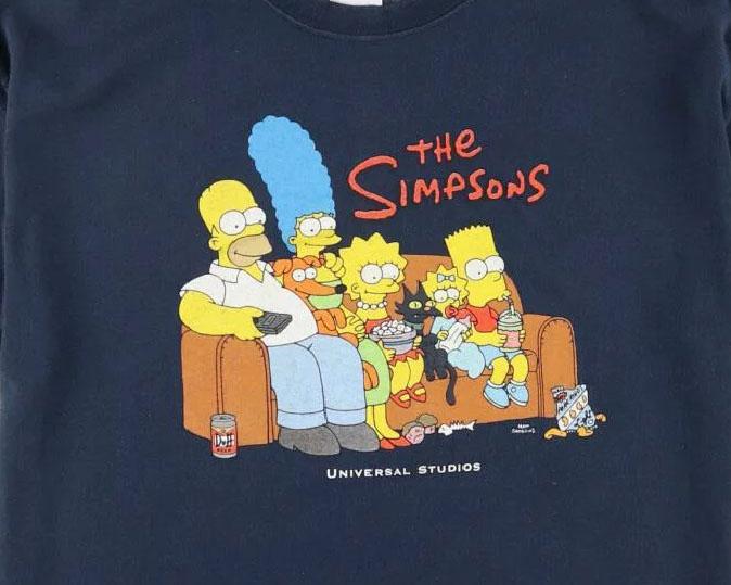 古着屋JAM シンプソンズTシャツ