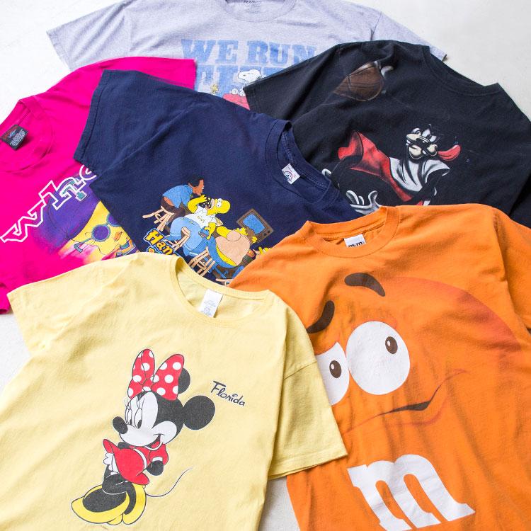 古着屋JAMのキャラクターTシャツ