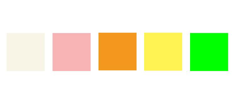 スプリングタイプカラーイメージ
