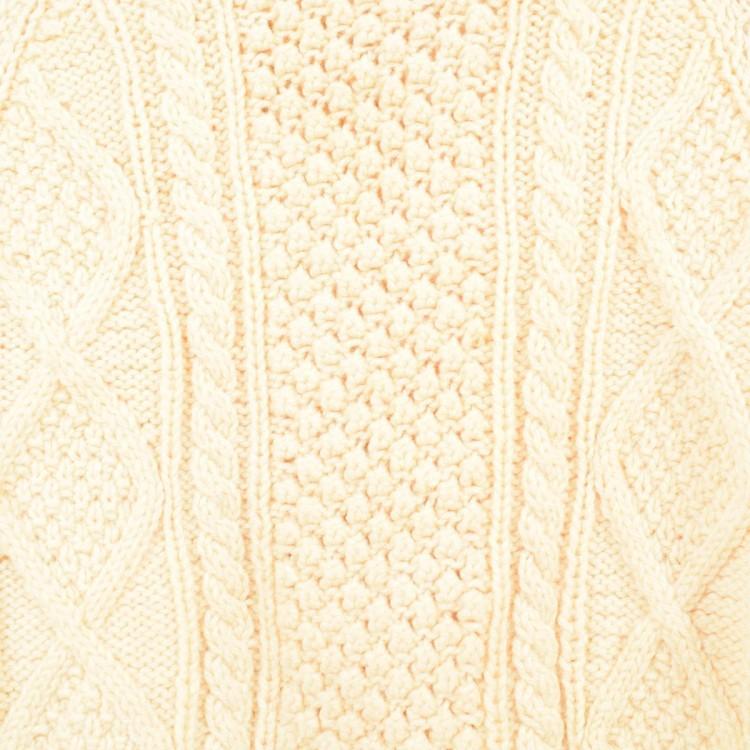 トリニティステッチ編み模様
