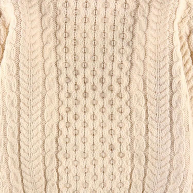 ハニカム編み模様