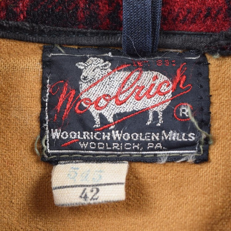古着屋JAMのウールリッチ