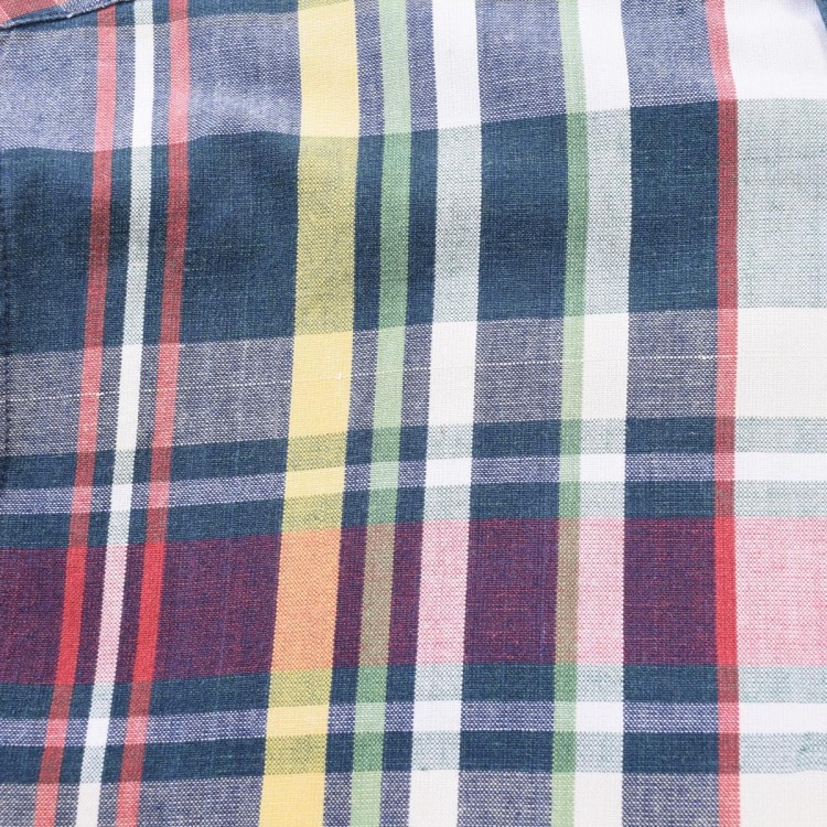 古着屋JAMのマドラスチェックシャツ