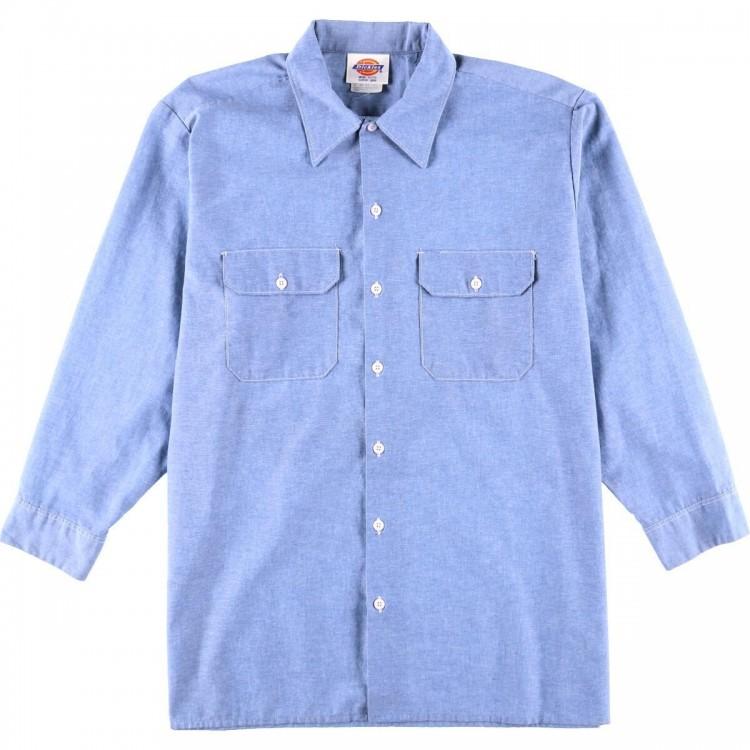 古着屋JAMのシャンブレーシャツ