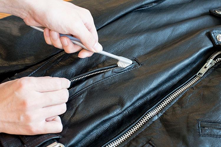 古着屋JAMのレザージャケットお手入れ