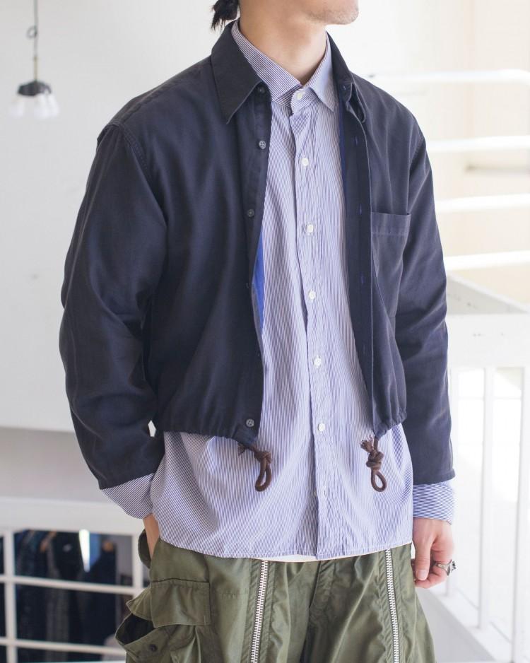 古着屋JAMの長袖ドロストシャツ