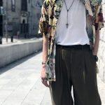 ハズさない!【アロハシャツ】ブランドとおしゃれメンズの着こなし8選