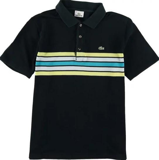 ラコステポロシャツ黒