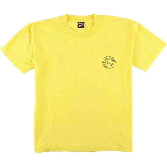 フルーツ オブザ ルーム t シャツ 黄色1
