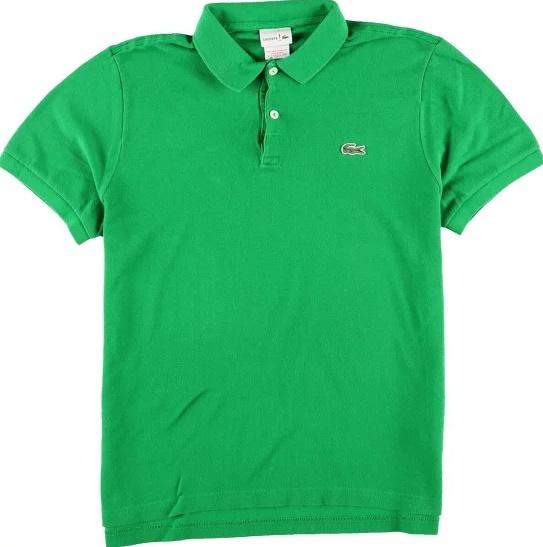 ラコステポロシャツ緑