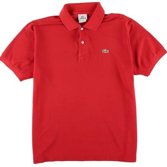 ラコステポロシャツ赤