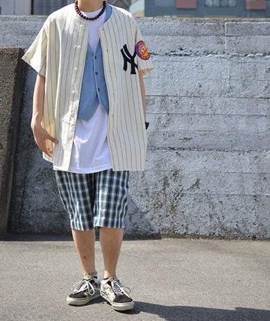 白Tシャツコーデ20