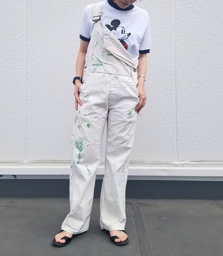 白Tシャツコーデ7