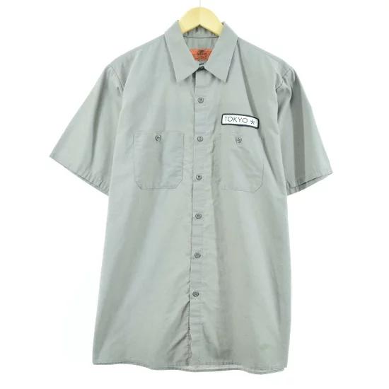 Red kap 半袖 ワークシャツ / メンズL