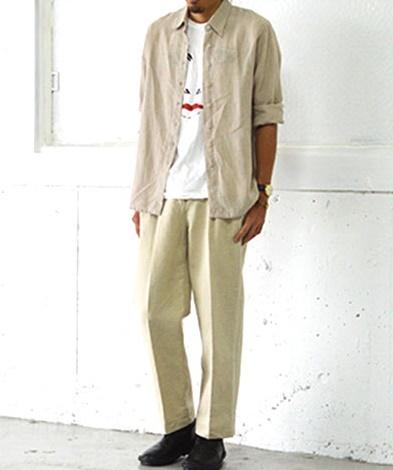 白Tシャツコーデ33